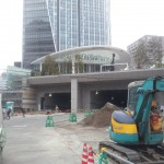 トンネルっぽくなってきた!虎ノ門ヒルズの完成間近の近況レポート(2014年2月)